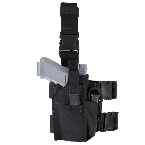 TACTICAL LEG HOLSTER BLACK