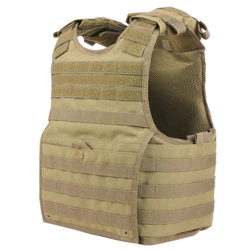 EXO PLATE CARRIER TAN L/XL