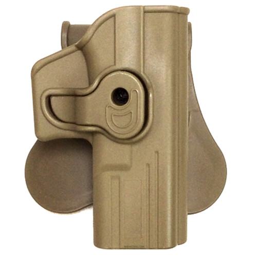 G SERIES MOLDED HOLSTER FDE RT HAND
