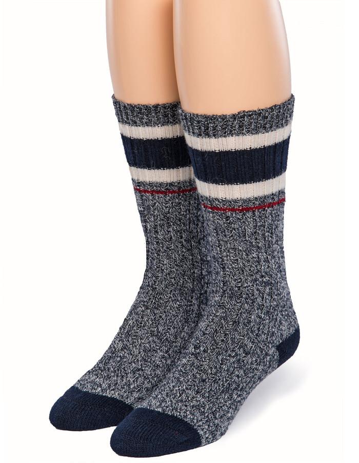 Old School Athletic Striped Socks