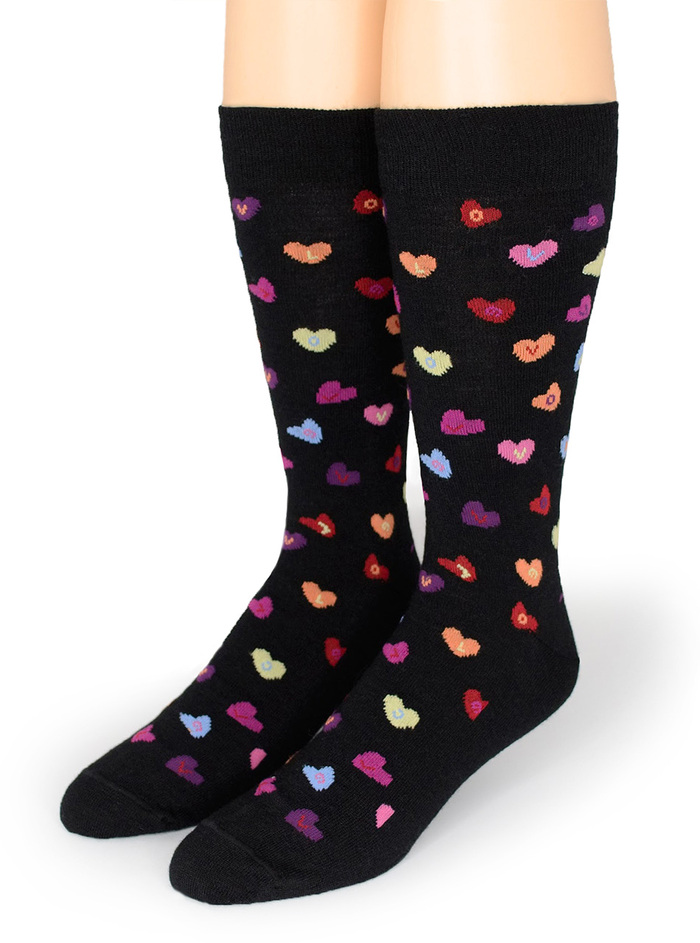 Candy Heart LOVE - Alpaca Socks
