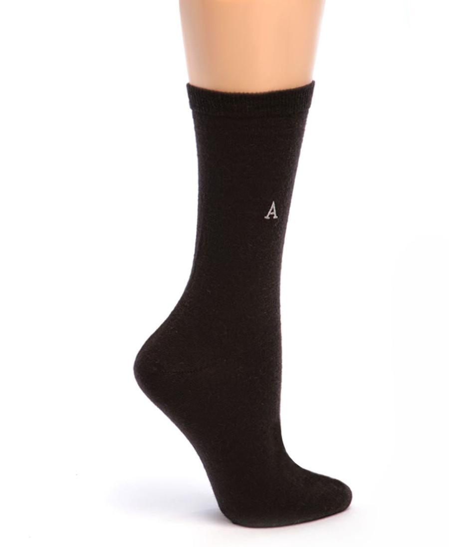 Women's Trouser Alpaca Socks Side