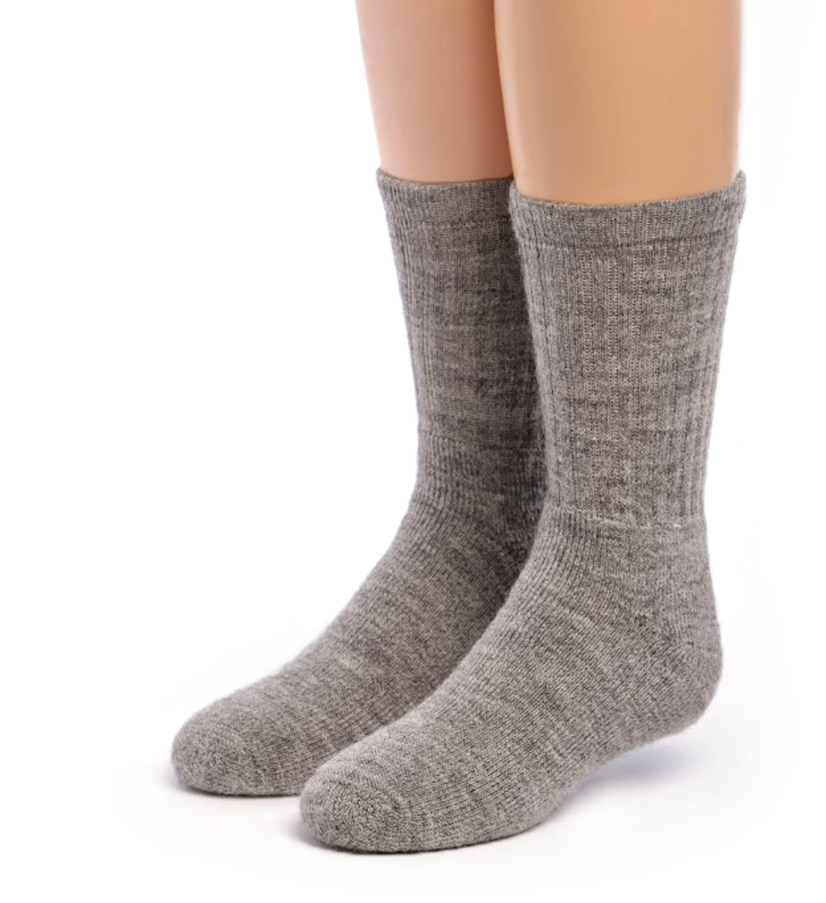 Kid's Outdoor Alpaca Socks Front