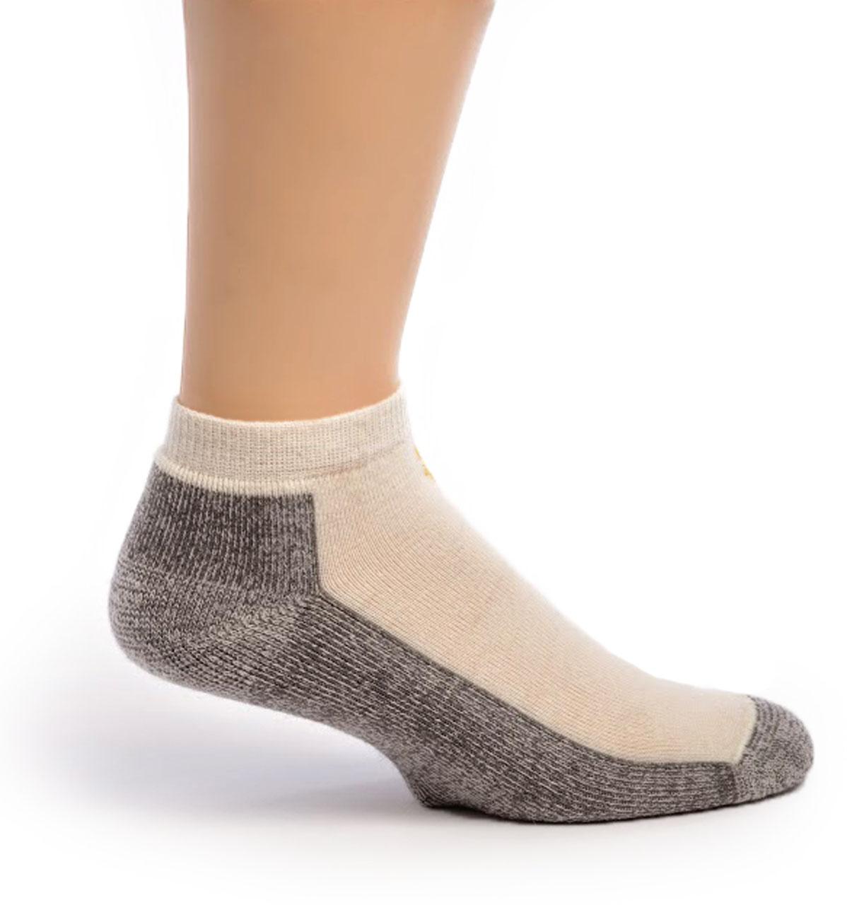 Mini Crew Alpaca Socks Side