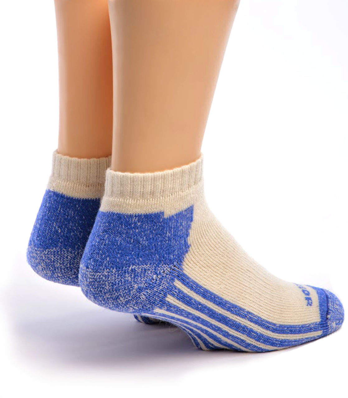 High Performance Alpaca Shorty Sport Sock Back