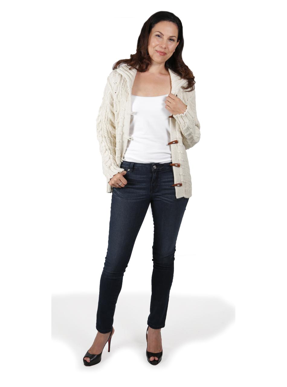 Traditional Aran Cardigan Full Size