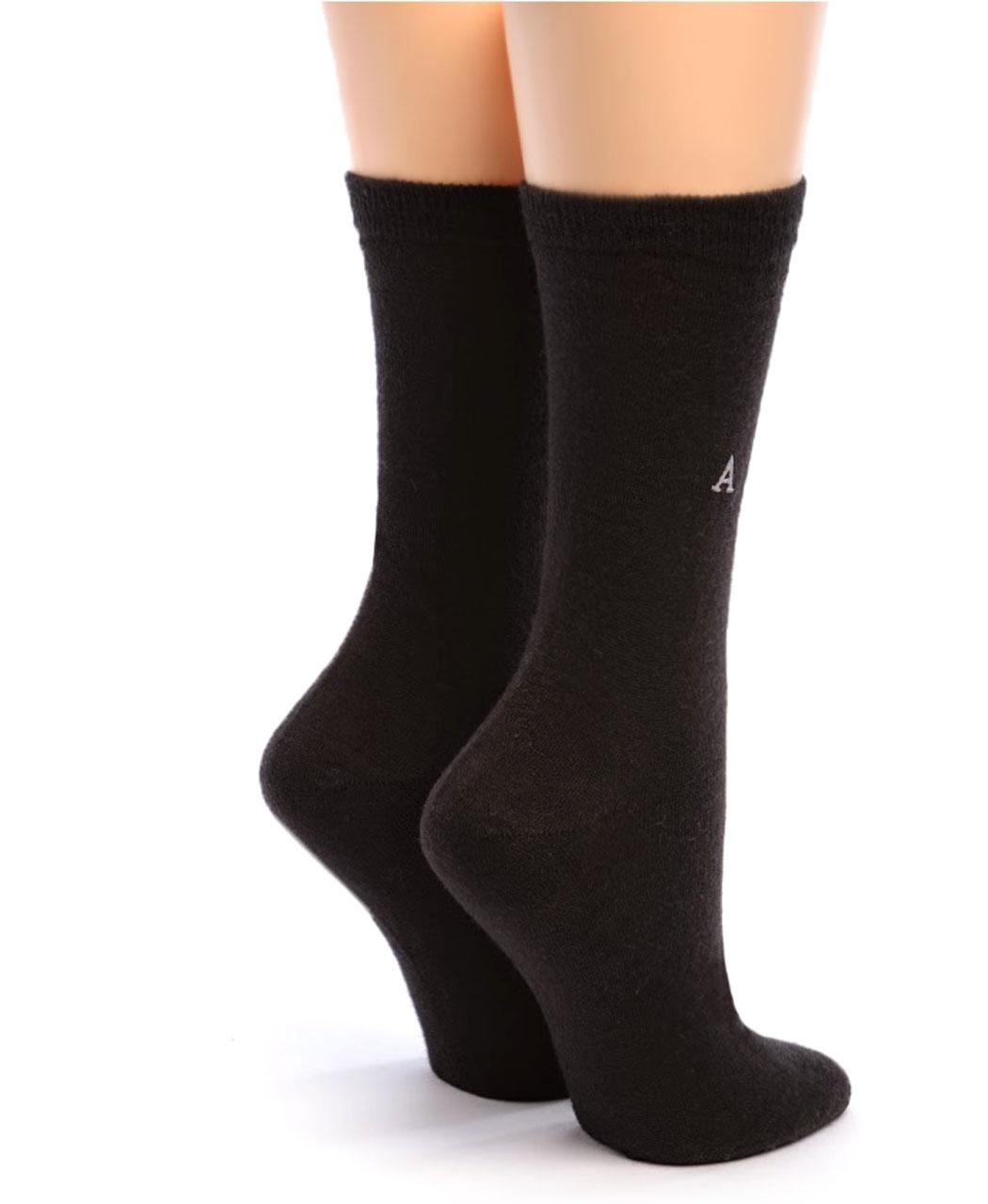Women's Trouser Alpaca Socks Back