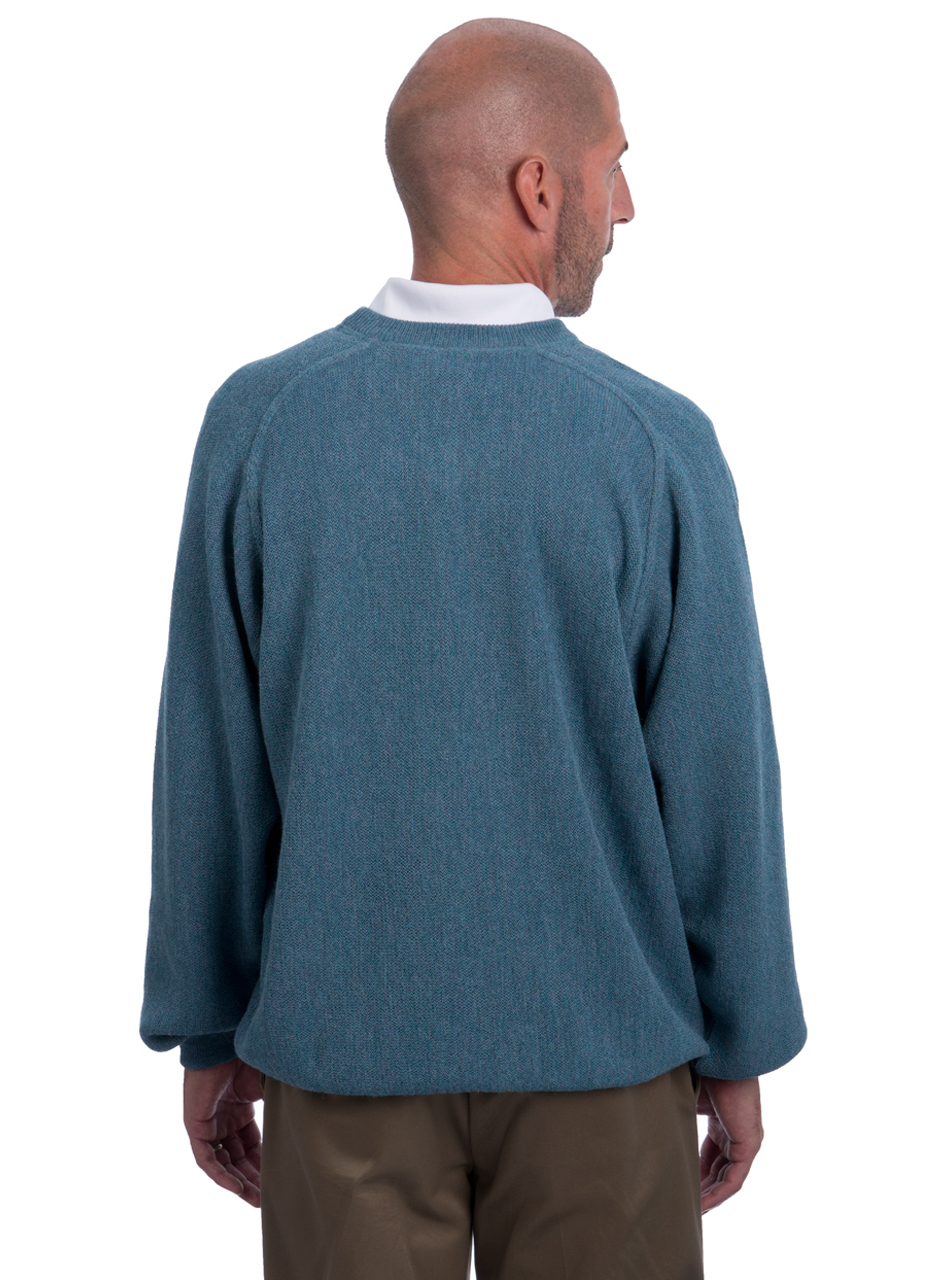 Alpaca Sweatshirt & Golf Sweater - Back