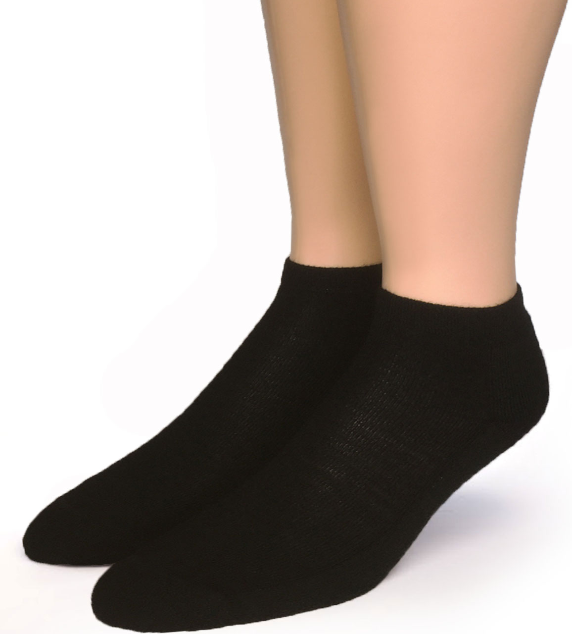Quarter No Show Socks - Ankle High Alpaca Socks Front