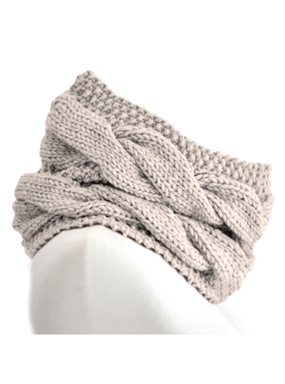 Chunky Cable Circle Scarf