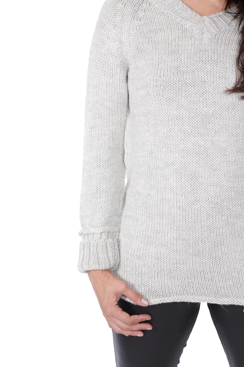 Knightley V-Neck Sweater Detail
