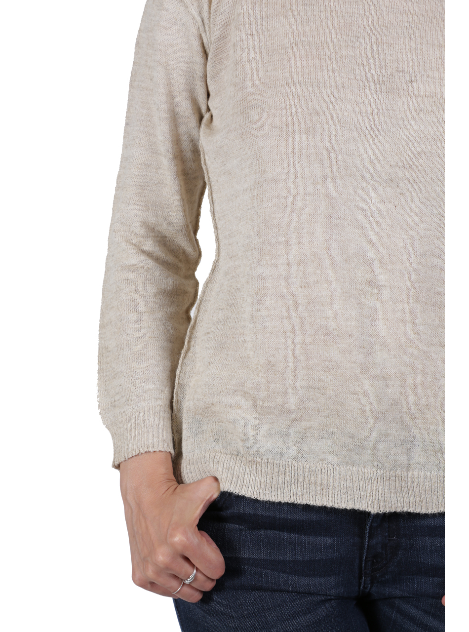 Beach Boat Neck Pullover Detail