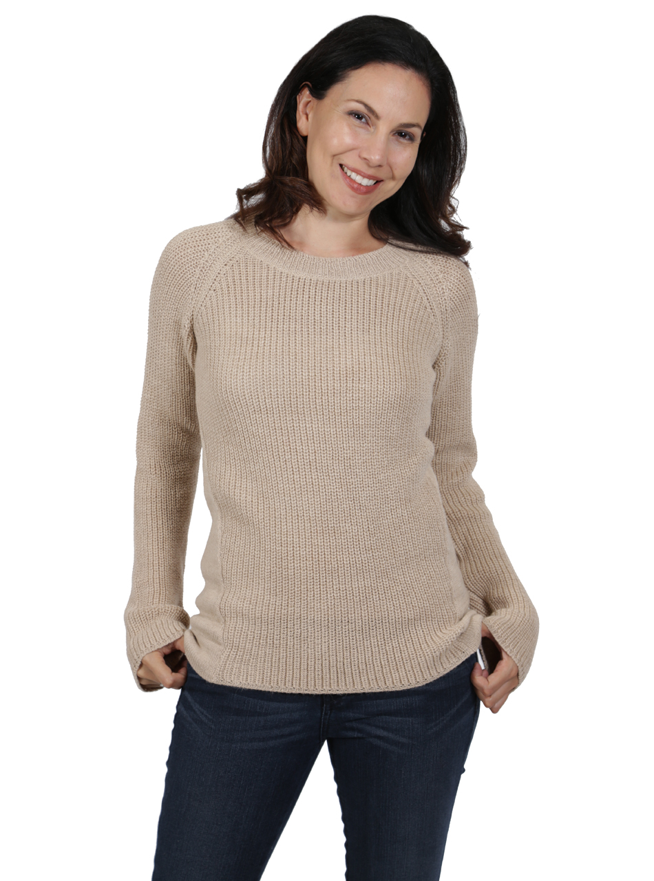 Melody Pullover Tunic Sweater Front