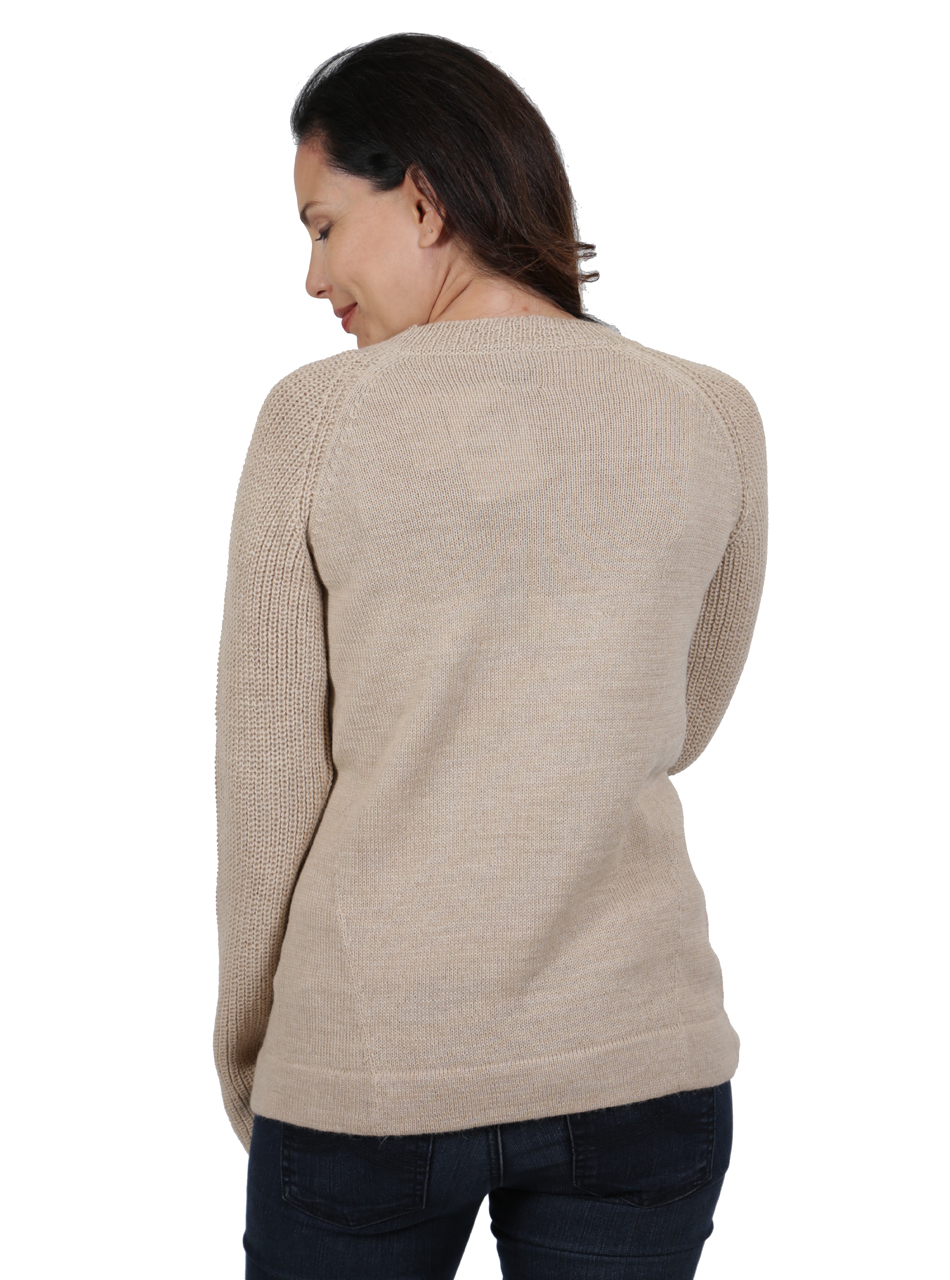 Melody Pullover Tunic Sweater Back