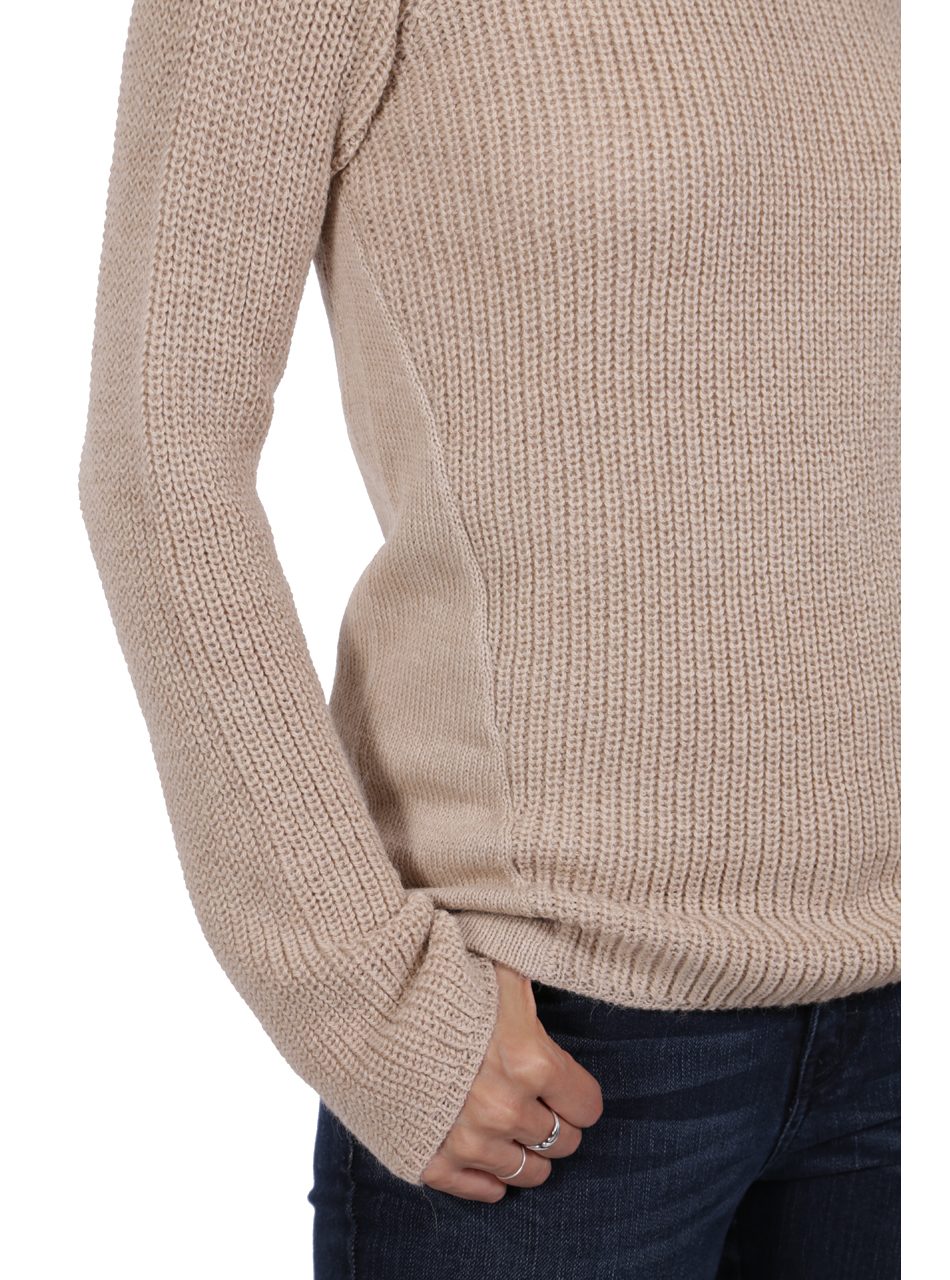 Melody Pullover Tunic Sweater Detail
