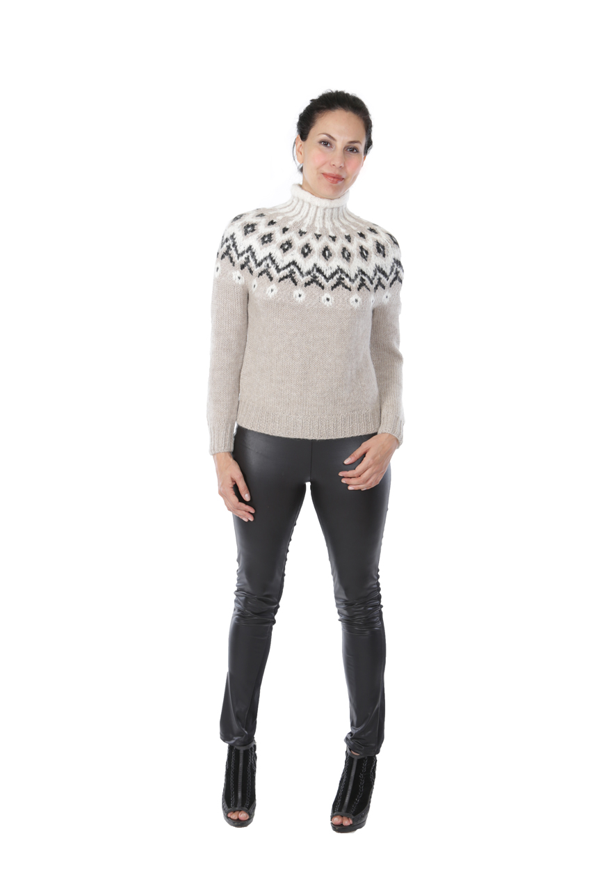 Grace Fair Isle Turtleneck Full Size