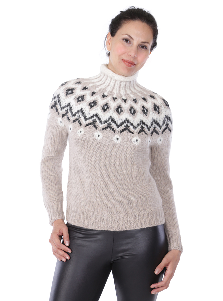 Grace Fair Isle Turtleneck Thumbnail
