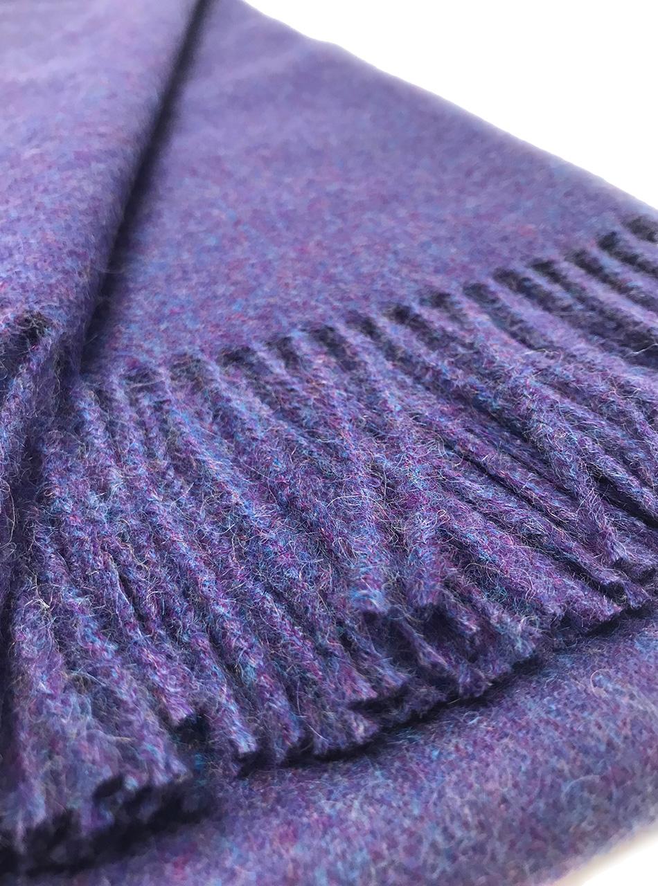 Alpaca Home City Scape Alpaca Throw Blankets  Close up