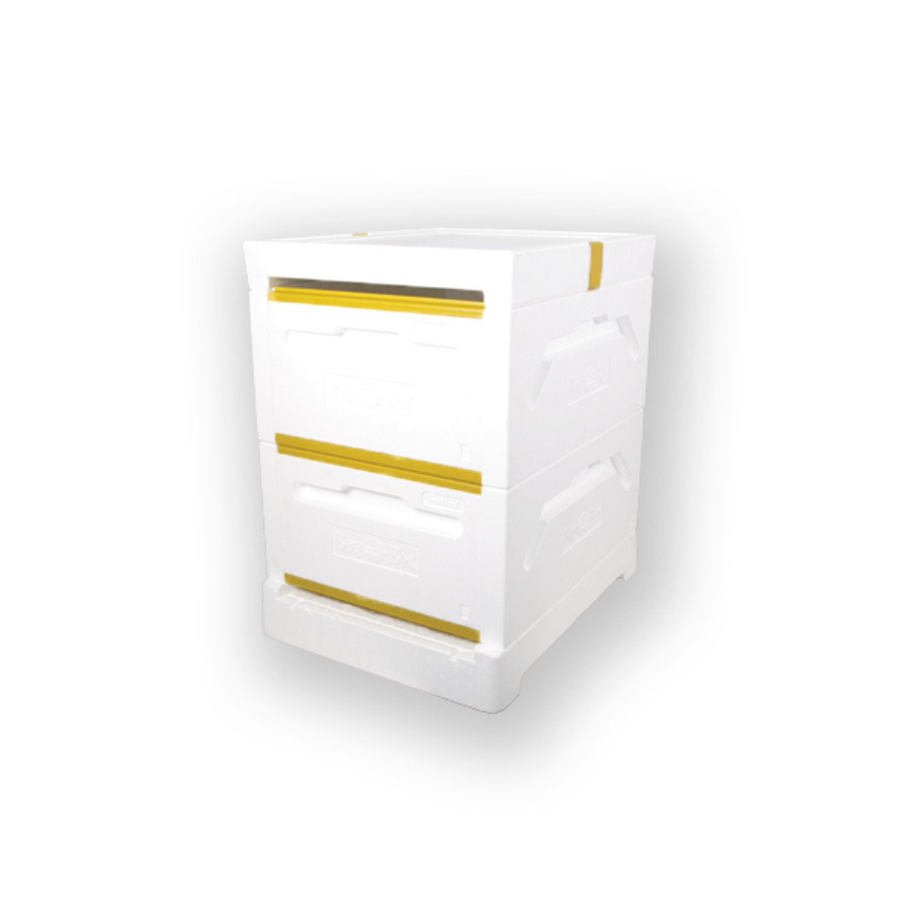Polystyrene 10 Frame Deep HIVE KIT w/REVERSIBLE top cover (Boxes are ...