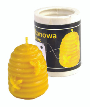 Small Skep Candle Mold [F016]