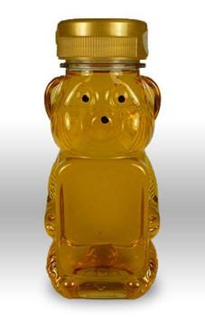 8 oz. wt. Plastic Panel Bears (case of 50 or 525) [PBR-8]