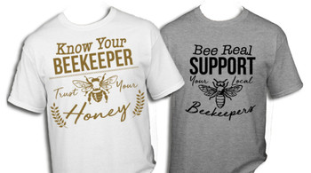 Know/Support Your Beekeeper T-Shirt [TMBS]