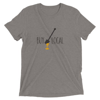 Short sleeve t-shirt- Buy Local Honey