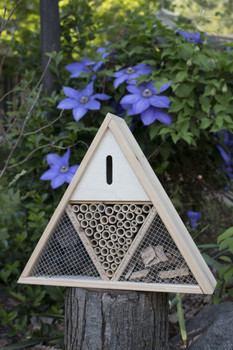 Triangle Insect House