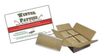 Winter Patties w/Honey-B-Healthy (1 lb. patty or 40 lb. box) [MB-WP / MB-WP40LB]