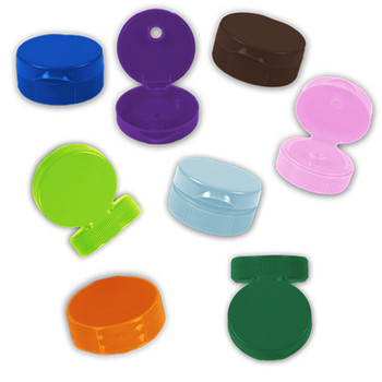 NEW 38mm Flip Top Rainbow Cap Sampler