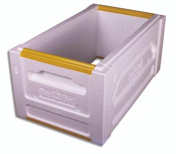 Polystyrene 6 Frame DEEP Nuc Box (unassembled) [PND]