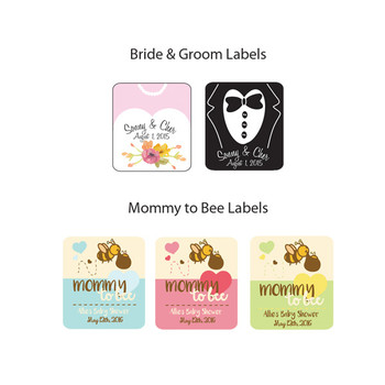 2 oz. Bear Favor Labels (250 count)
