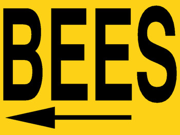Bee Meeting Sign [MTG-SN]