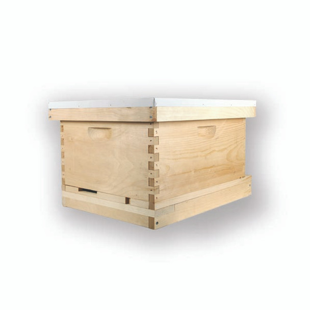 8 Frame Deep HIVE KIT (Boxes and Frames are Unassembled) (Choose Kit ...