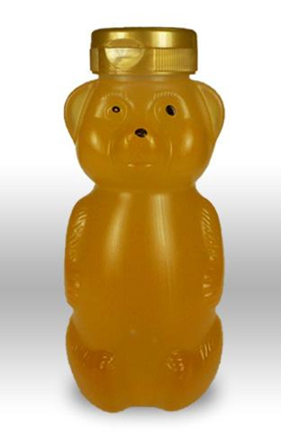 12 oz. wt. Plastic Hazy Belly Bear (case of 50 or 438) [HZBR-12]