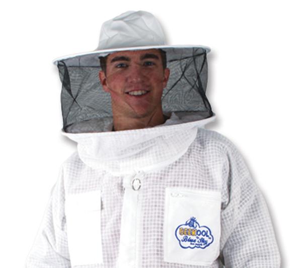 Jacket with ROUND veil