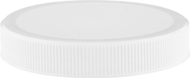 White Plastic Unlined Lids for Glass Classics [48-CP / /63-CP]