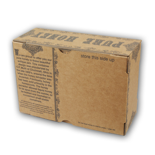 Gift Boxes for 16 oz. Muth Jars (bundle of 12) [MJB16]
