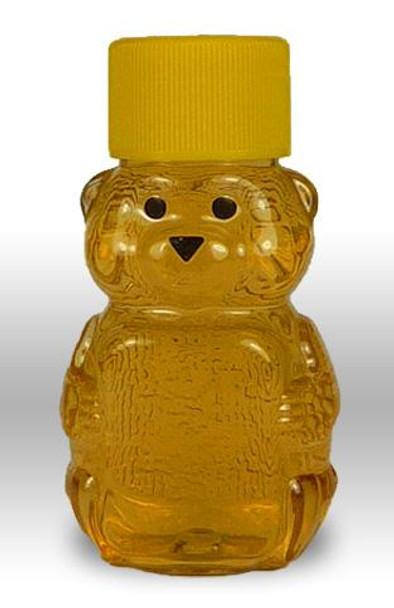 24-pack 2 oz. Plastic Bears w/Caps [PBR-2]