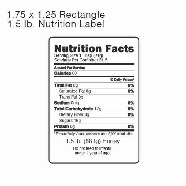1.5 lb. [NL-15]