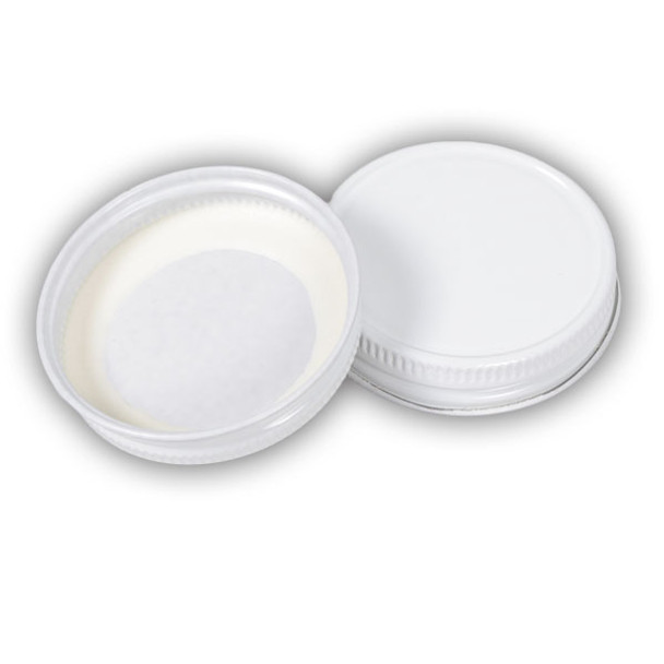 48mm White Metal Lids