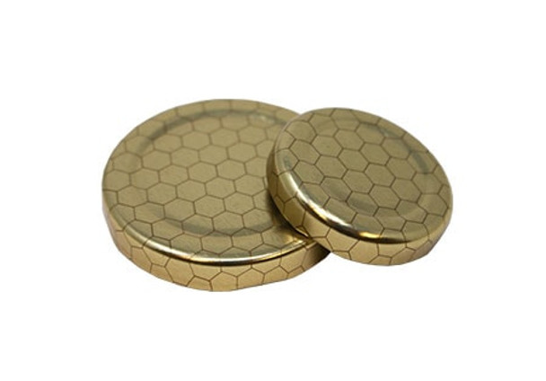 Gold with Hex Design