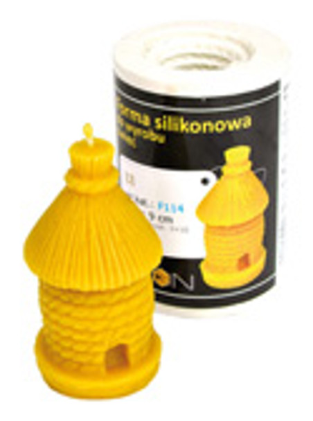 Old Skep Candle Mold [F114]