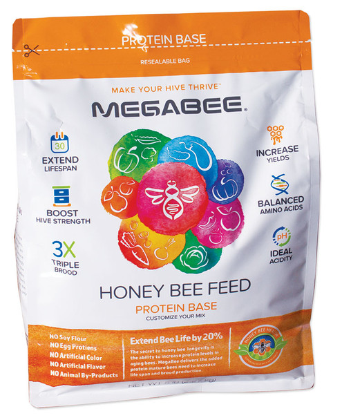 MegaBee Dry Pollen Supplement (5 lb. bag) [988]