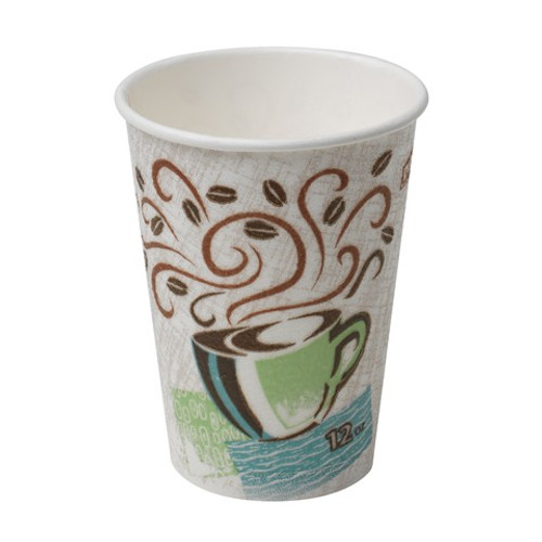 Dixie - 5342CD - PerfecTouch - 12 oz Insulated Hot Paper Cup - 1000/Case