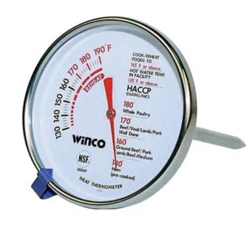 Winco - TMT-MT2 - Meat Thermometer 130 To 190 F Nsf 1/Each