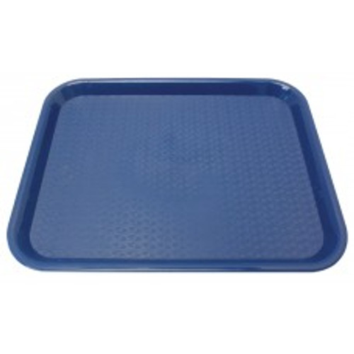 "Johnson Rose - 86126 - Plastic Food Service Tray Blue 12"" X 16"" 12/Pack"