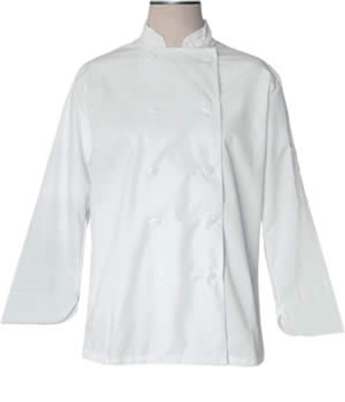 CI21809 XL - Bodyguard White Chef Coat Extra Large - Each