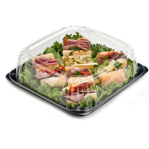 "Ultrastack 14"" Square Catering Tray Combo"
