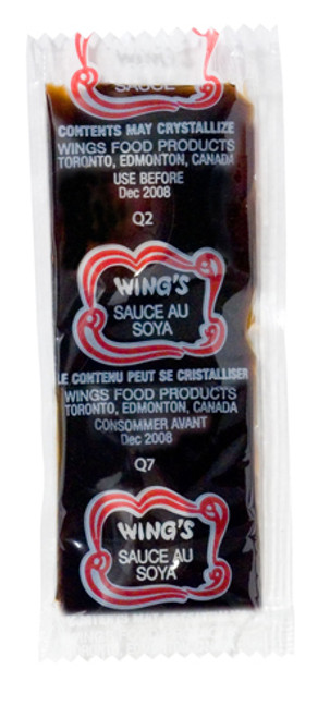 Wing's - Food Soya Sauce Portion 9g x 500